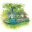 Арис - иконка «сад» в Парфино